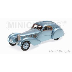Bugatti Type 57 SC Atlantic 1936 Bleue Minichamps 107110320