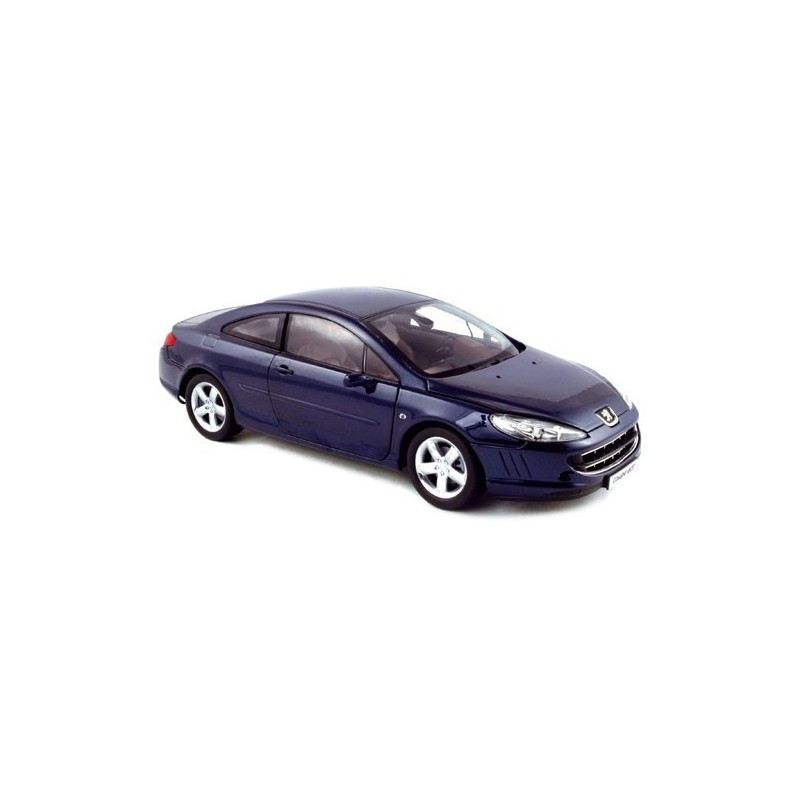 peugeot 407 coupe 2006 bleue norev 184764 miniatures minichamps. Black Bedroom Furniture Sets. Home Design Ideas