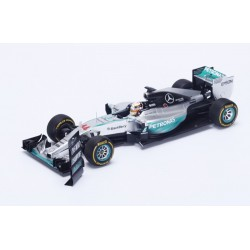 Mercedes W06 F1 USA 2015 World Champion Lewis Hamilton Spark 18S179
