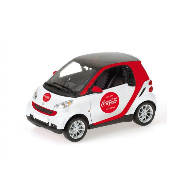smart fortwo 2007 coca cola minichamps 150036301 miniatures minichamps. Black Bedroom Furniture Sets. Home Design Ideas