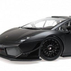 Lamborghini Gallardo LP 600 2011 Noire matt Minichamps 151111100