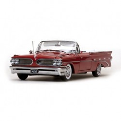 Pontiac Bonneville 1959 Rouge Sunstar SS5183
