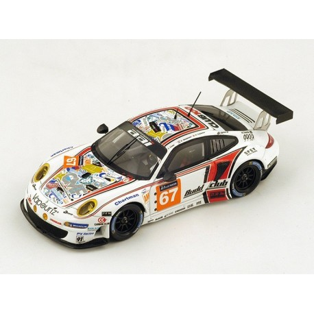 Porsche 911 GT3 RSR 997 67 24 Heures du Mans 2015 Spark S4670