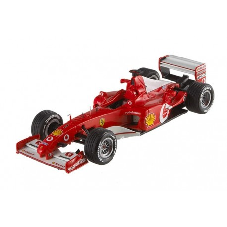 Ferrari F2002 France 2002 Michael Schumacher Hotwheels MX5513