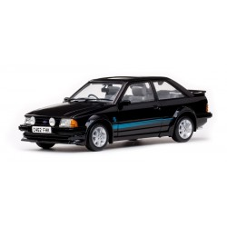 Ford Escort RS Turbo 1984 Noire Sunstar SS4962R