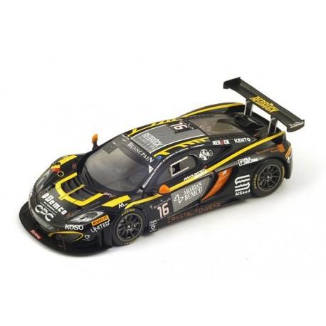 McLaren MP4/12C 16 24 Heures de Spa-Francorchamps 2014 Spark SB088