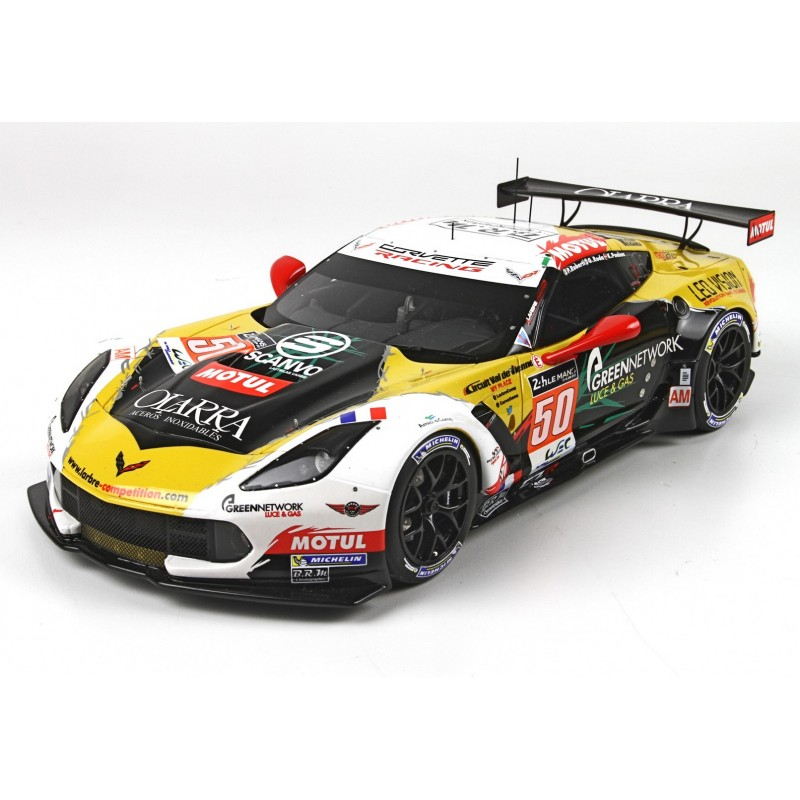 chevrolet corvette c7r 50 24 heures du mans 2015 bbr p18115 miniatures minichamps. Black Bedroom Furniture Sets. Home Design Ideas