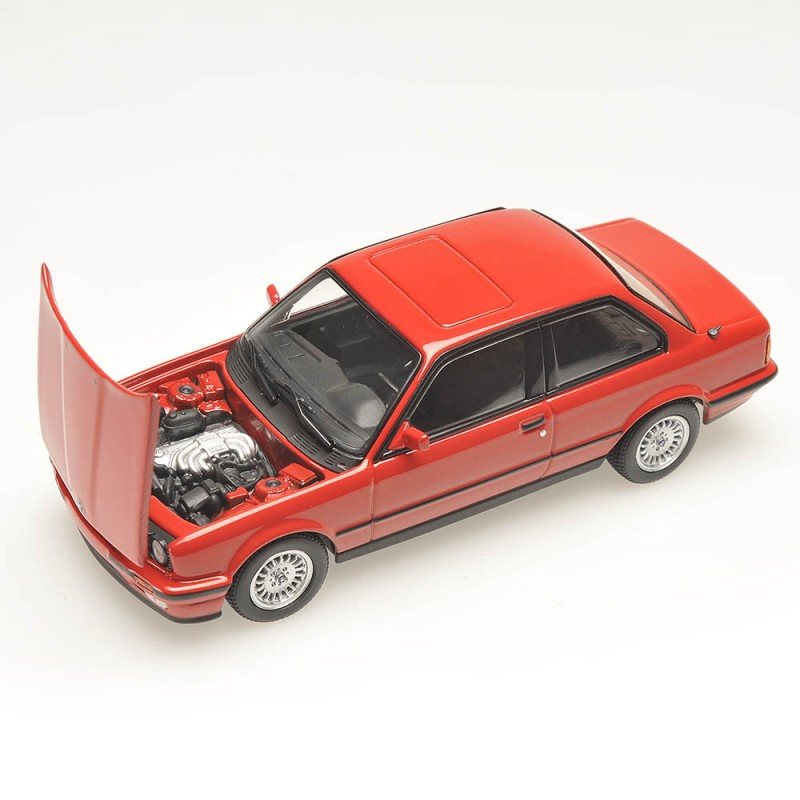 bmw serie 3 e30 rouge 1989 minichamps 431024004 miniatures minichamps. Black Bedroom Furniture Sets. Home Design Ideas