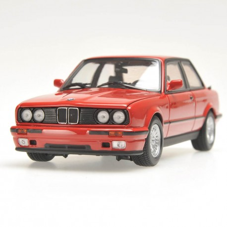 BMW Serie 3 E30 Rouge 1989 Minichamps 431024004