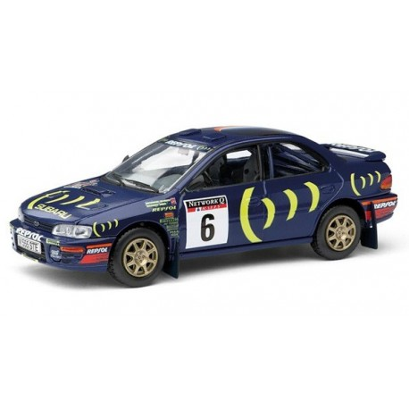 Subaru Impreza WRC 6 RAC Rally 1995 Burns Reid Corgi VA12106