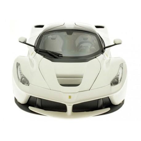 Ferrari LaFerrari 2014 Blanche Bburago 16001W