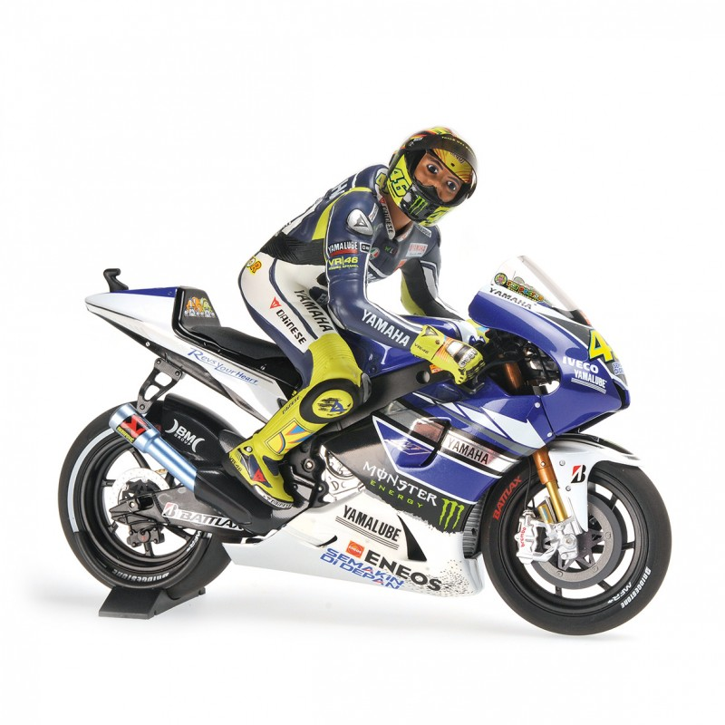 yamaha ytz m1 moto gp assen 2013 valentino rossi dirty look minichamps 122133146 miniatures. Black Bedroom Furniture Sets. Home Design Ideas