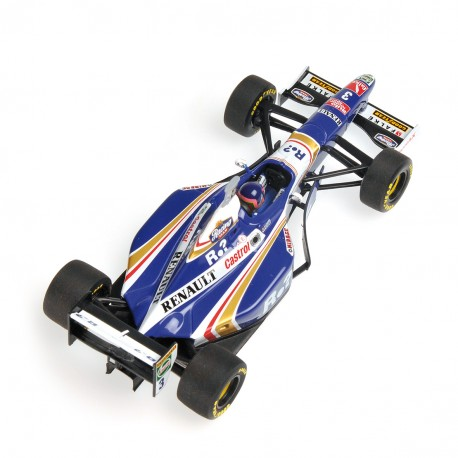 Williams Renault FW19 WC 1997 Jacques Villeneuve Minichamps 436970003
