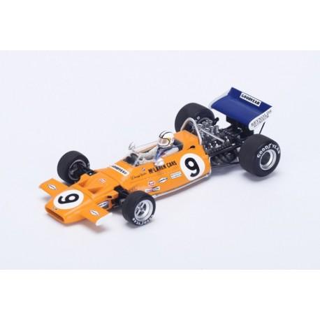 McLaren M19 F1 Monaco 1971 4ème Denny Hulme Spark S4293