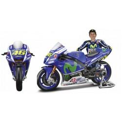 Yamaha YZR-M1 46 Valentino Rossi Moto GP 2016 Maisto 31590-46