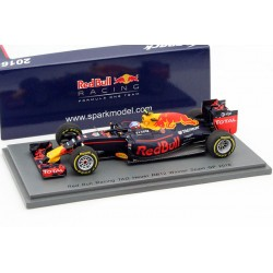 Red Bull Renault RB12 F1 Espagne 2016 Max Verstappen Spark S5019
