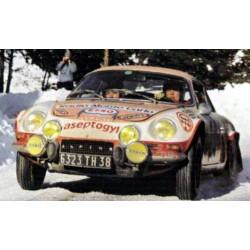 Alpine Renault A110 Rallye de Monte Carlo 1973 Moss Carlsson - Crellin Trofeu To834