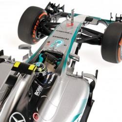 Mercedes W06 Hybrid F1 Japon 2015 Nico Rosberg Minichamps 110150206