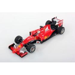Ferrari SF15-T F1 Belgique 2015 Sebastian Vettel Looksmart LSF103
