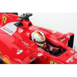 Ferrari SF15-T F1 Belgique 2015 Sebastian Vettel Looksmart LS18F103