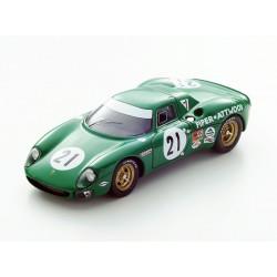 Ferrari 250LM 21 24 Heures du Mans 1968 Looksmart LSLM042