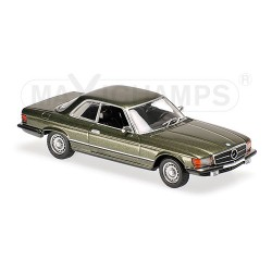 Mercedes-Benz 450 SLC 1974 Verte foncée Maxichamps 940033420