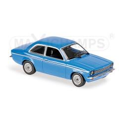 Opel Kadett C 1974 Bleue Maxichamps 940045601