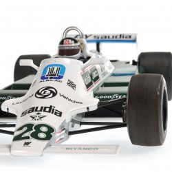 Williams Ford FW07B F1 1980 Carlos Reutemann Minichamps 117800028