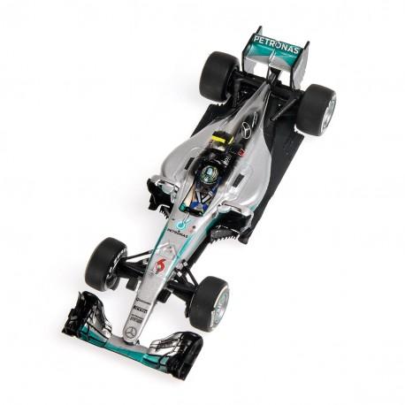 Mercedes W07 Hybrid F1 Australie 2016 Nico Rosberg Minichamps 410160006