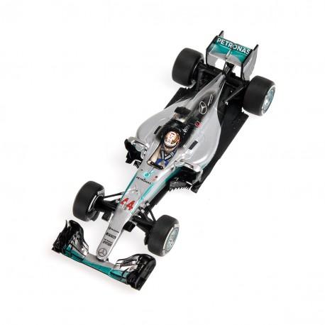 Mercedes W07 Hybrid F1 Australie 2016 Lewis Hamilton Minichamps 410160044