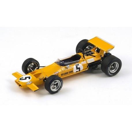 McLaren M7A F1 Mexique 1969 Denny Hulme Spark 18S116