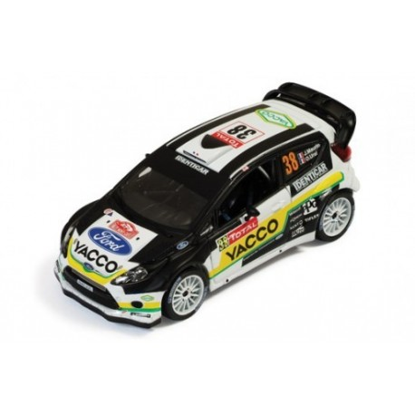 ford fiesta rs wrc 38 rallye monte carlo 2012 maurin ural ixo ram501 miniatures minichamps. Black Bedroom Furniture Sets. Home Design Ideas