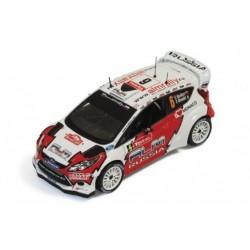Ford Fiesta RS WRC 6 Rallye Monte Carlo 2012 Novikov Giraudet IXO RAM494