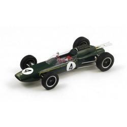 Lotus 25 F1 Pays-Bas 1962 Jim Clark Spark 18S119