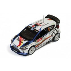 Ford Fiesta RS WRC 8 Rallye Monte Carlo 2012 Delecour Savignoni IXO RAM491