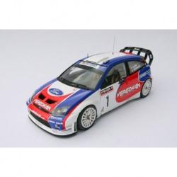 Ford Focus RS05 WRC 1 Rallye de Wallonie 2006 Tsjoen Chevaillier IXO RR002