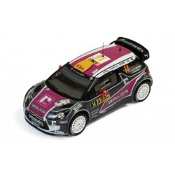 Citroen DS3 WRC 14 Rallye d'Allemagne 2011 Van Merksteijn Mombaerts IXO RAM480