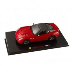 Ferrari 599 GT0 2010 Rouge Hotwheels MT6267