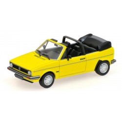 VW Golf Cabriolet 1980 Jaune Minichamps 400055130