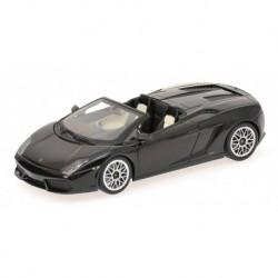 Lamborghini Gallardo LP 560-4 Spyder 2009 Noire Minichamps 400103830
