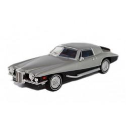 Stutz Blackhawk Coupe 1971 Silver IXO PRD035