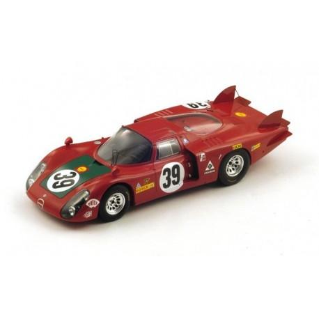 Alfa Romeo 33/2 39 24 Heures du Mans 1968 Spark 18S129