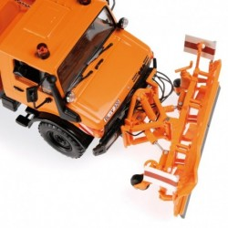 Mercedes-Benz Unimog 1300 L 1976 Orange Minichamps 439033060
