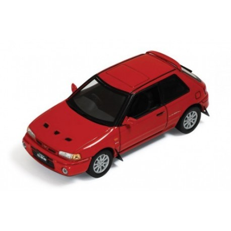 Mazda 323 GTR 1991 Red IXO CLC236
