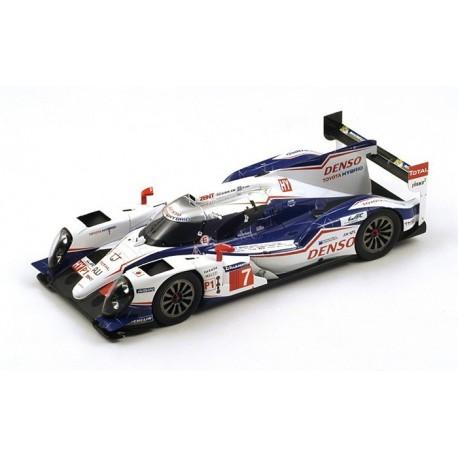 Toyota TS040 Hybrid 7 24 Heures du Mans 2014 Spark 18S143