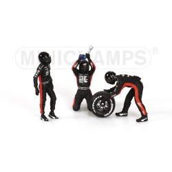 Tyre Change Set Minardi 2003 Minichamps 343100092