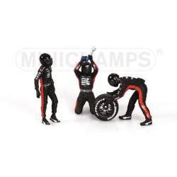 Tyre Change Set Minardi 2003 Minichamps 343100092