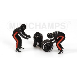 Tyre Change Set Minardi 2003 Minichamps 343100093
