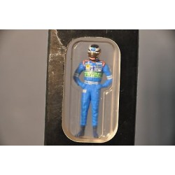 Figurine Gerhard Berger 1997 Benetton Minichamps 343970008