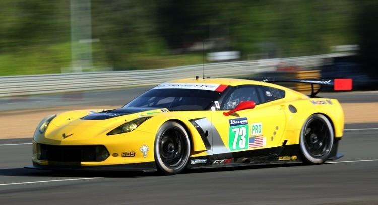 Corvette 7CR N°73 24 Heures du Mans 2014